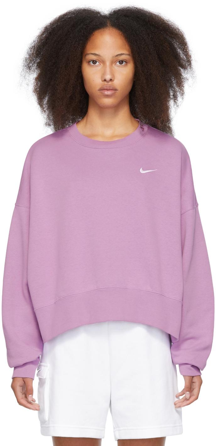 Purple Sportswear Essential Sweatshirt