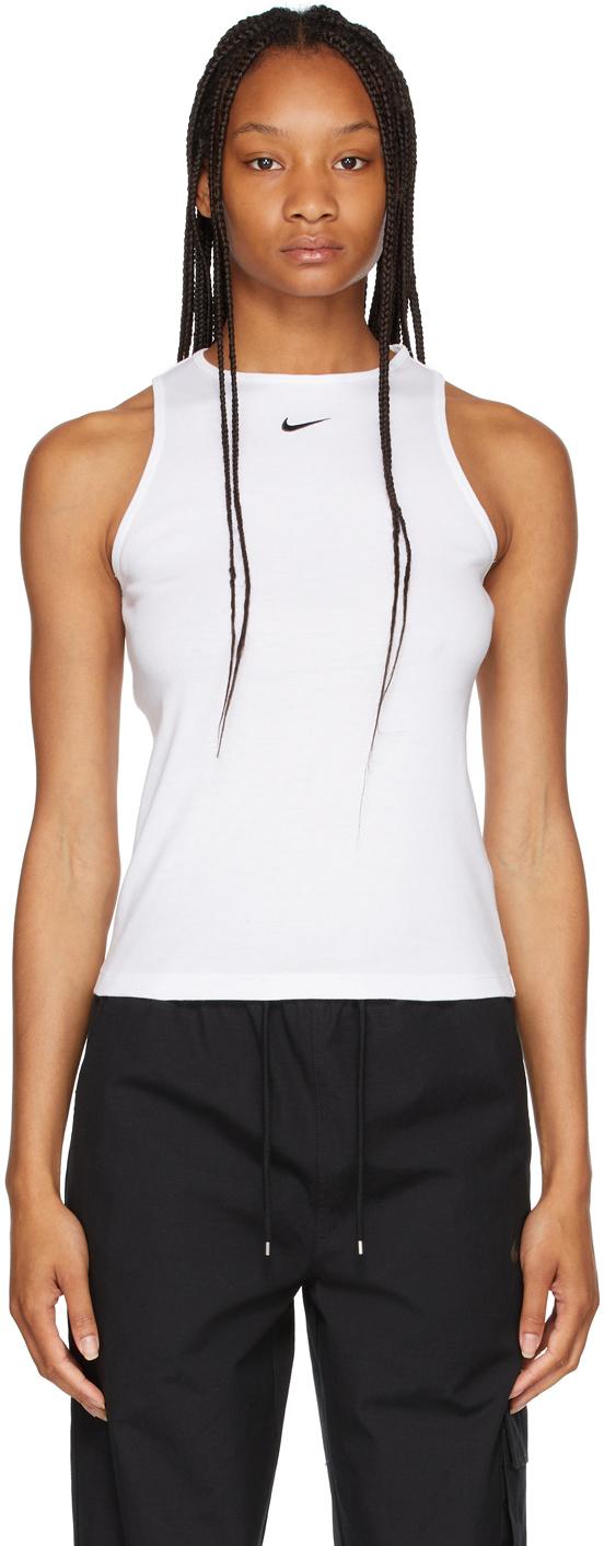 White Sportswear Essential Tank Top