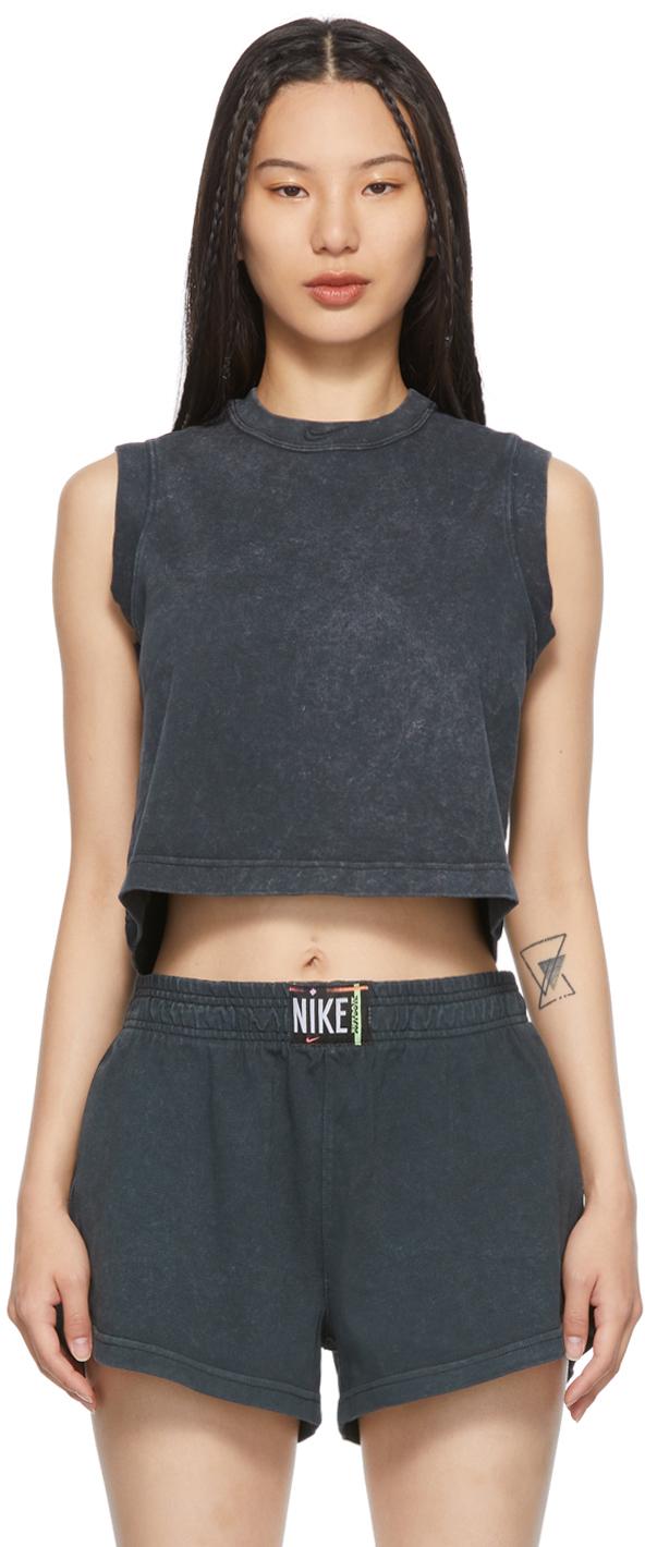 Black Sportswear Tank Top