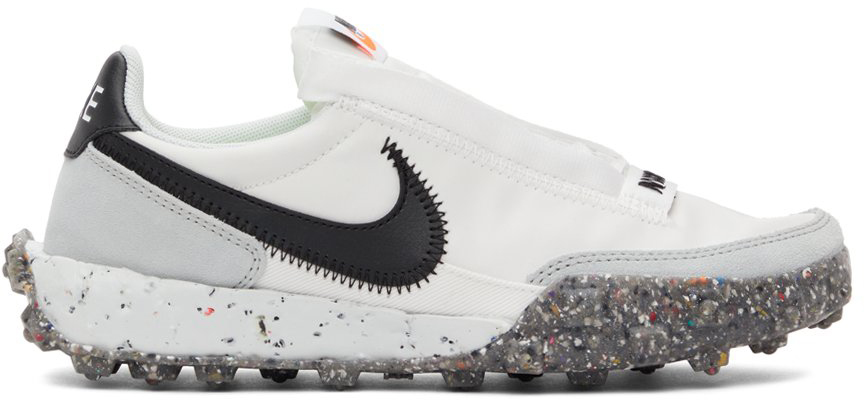 White Waffle Racer Crater Sneakers