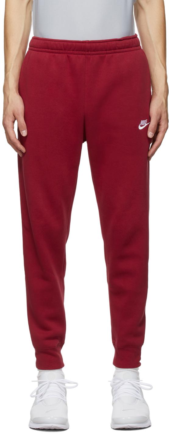 Red Sportswear Club Lounge Pants