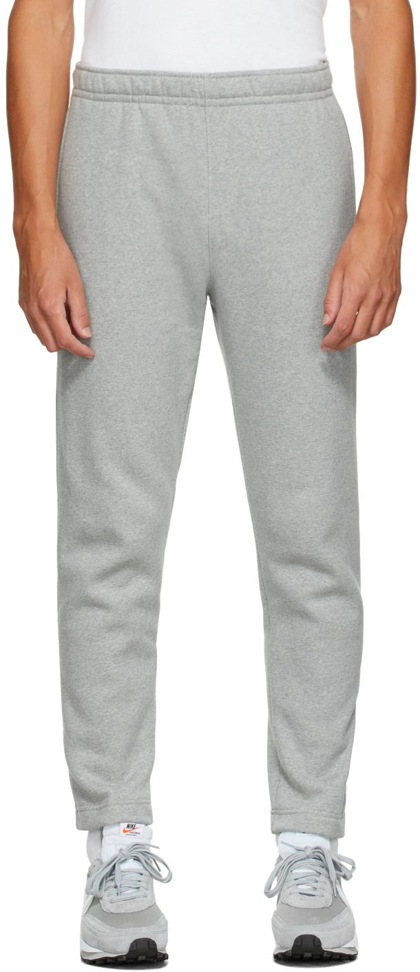 Grey Fleece Sportswear Club Lounge Pants