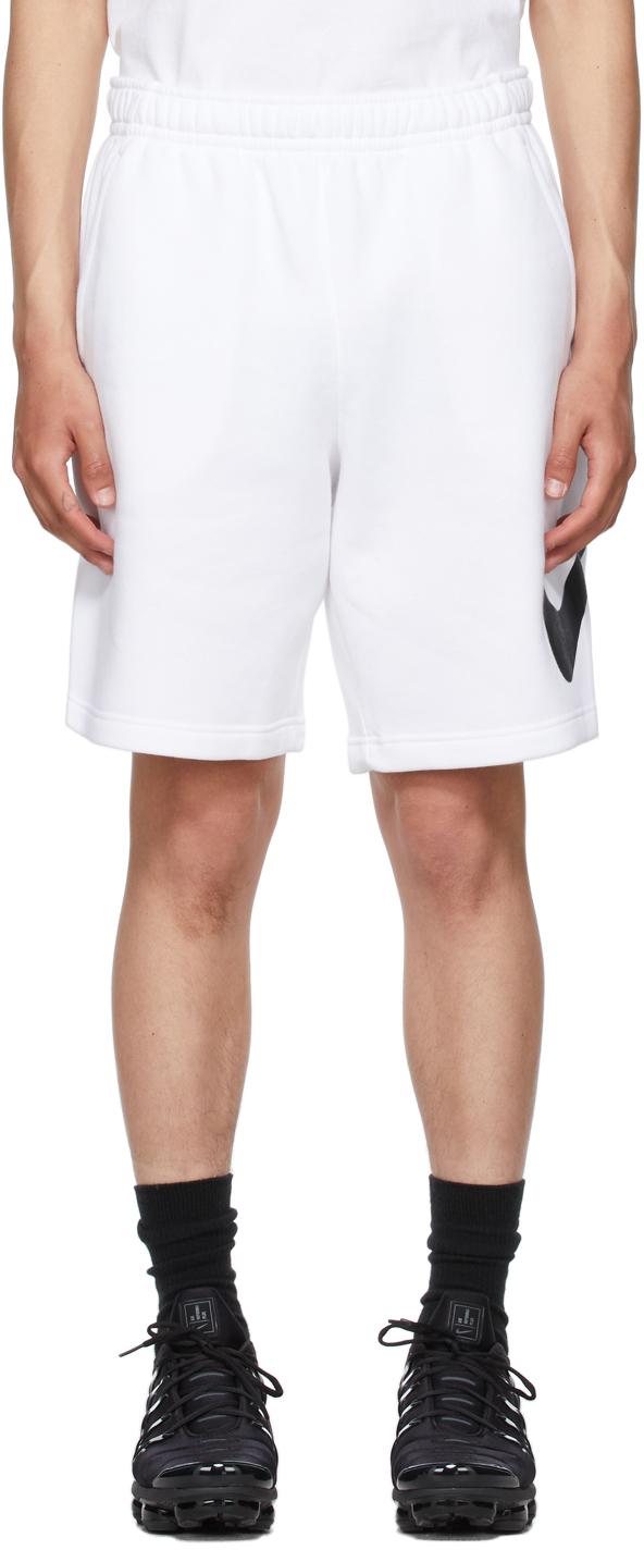 White Sportswear Club Shorts
