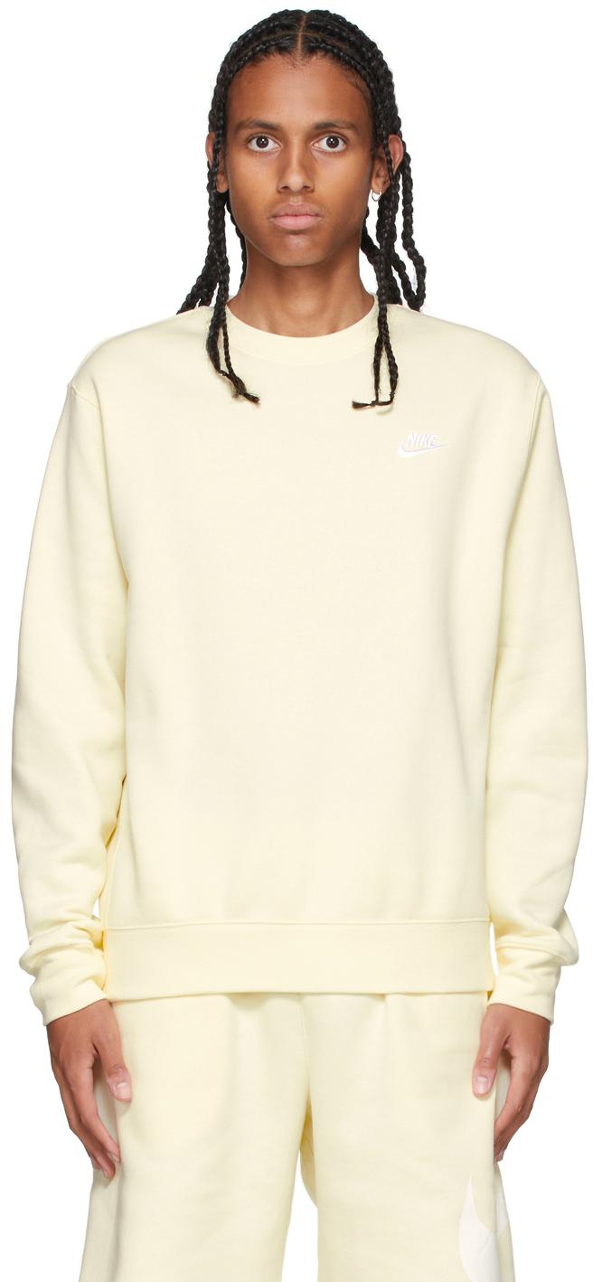 Yellow Sportswear Club Sweatshirt