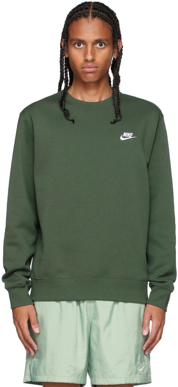 Green Sportswear Club Sweatshirt