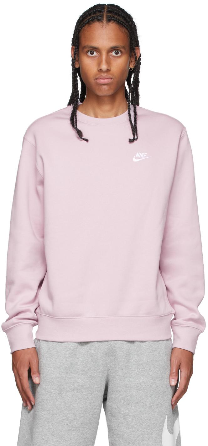 Pink Sportswear Club Sweatshirt