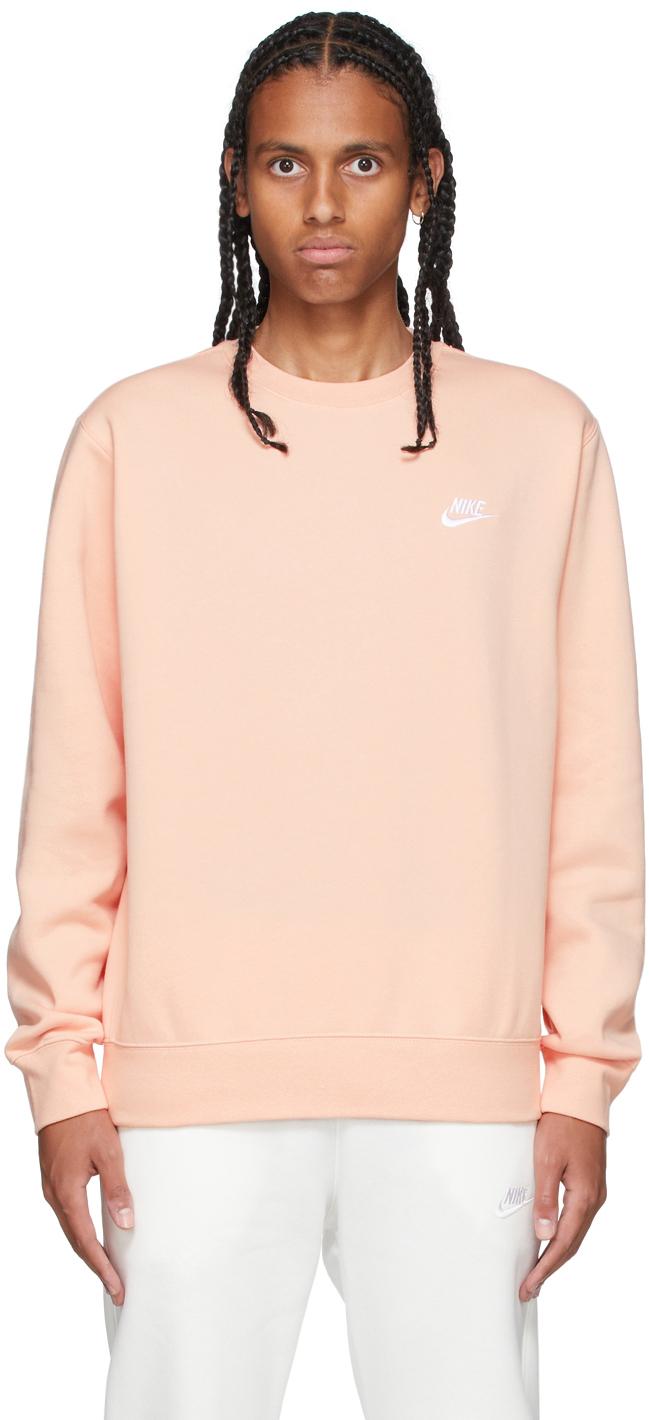 Orange Sportswear Club Sweatshirt