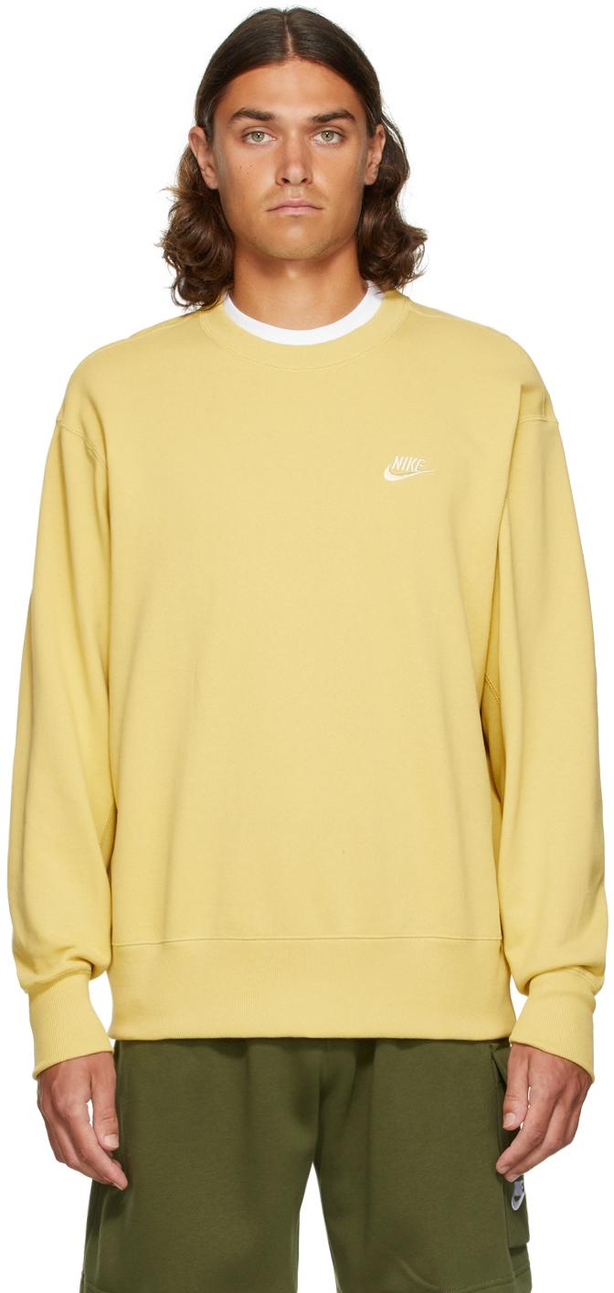 Yellow Classic Sportswear Sweatshirt