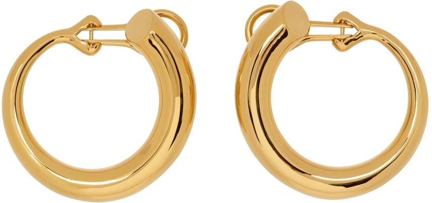 Gold Large Monie Earrings