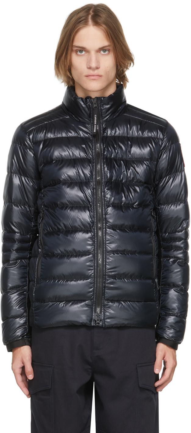 Black Down Packable Crofton Jacket