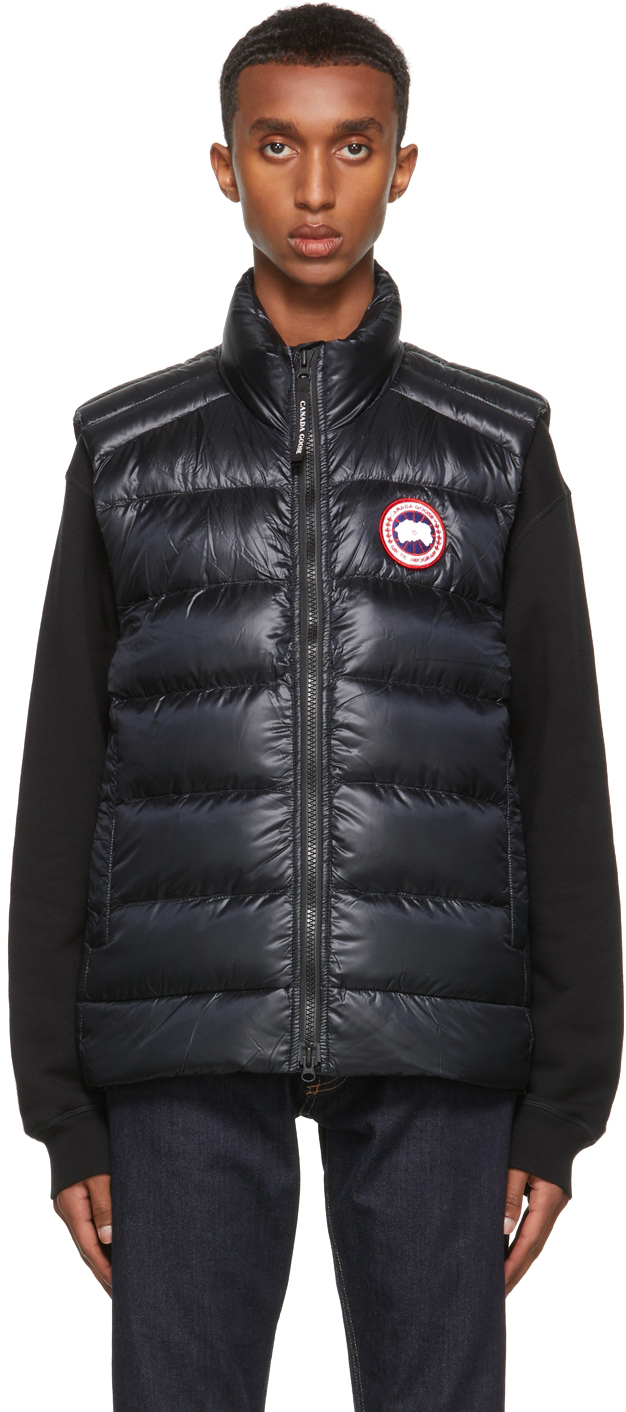 Black Down Crofton Vest