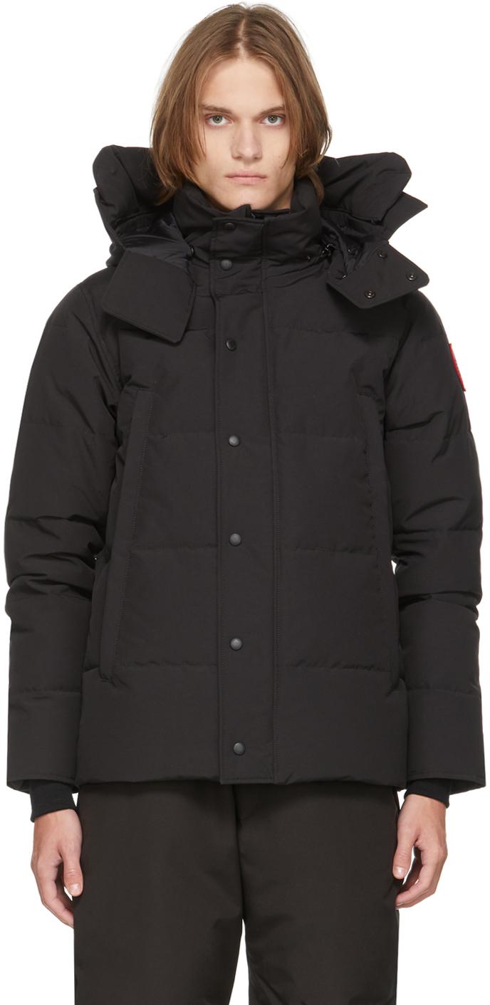 Black Down Wyndham Jacket