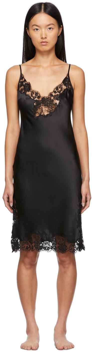 Black Orchid Slip Dress