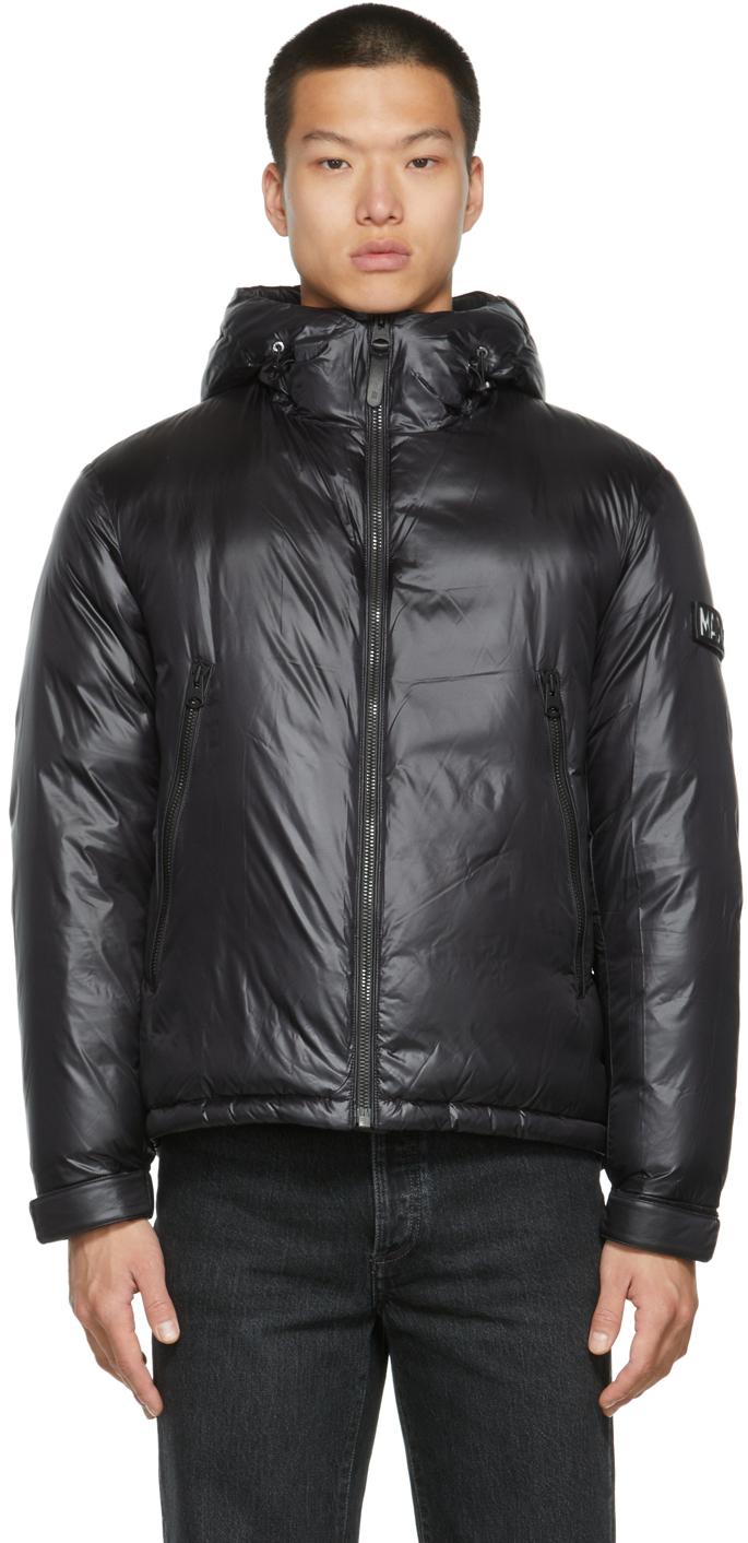 Black Down Vic Jacket