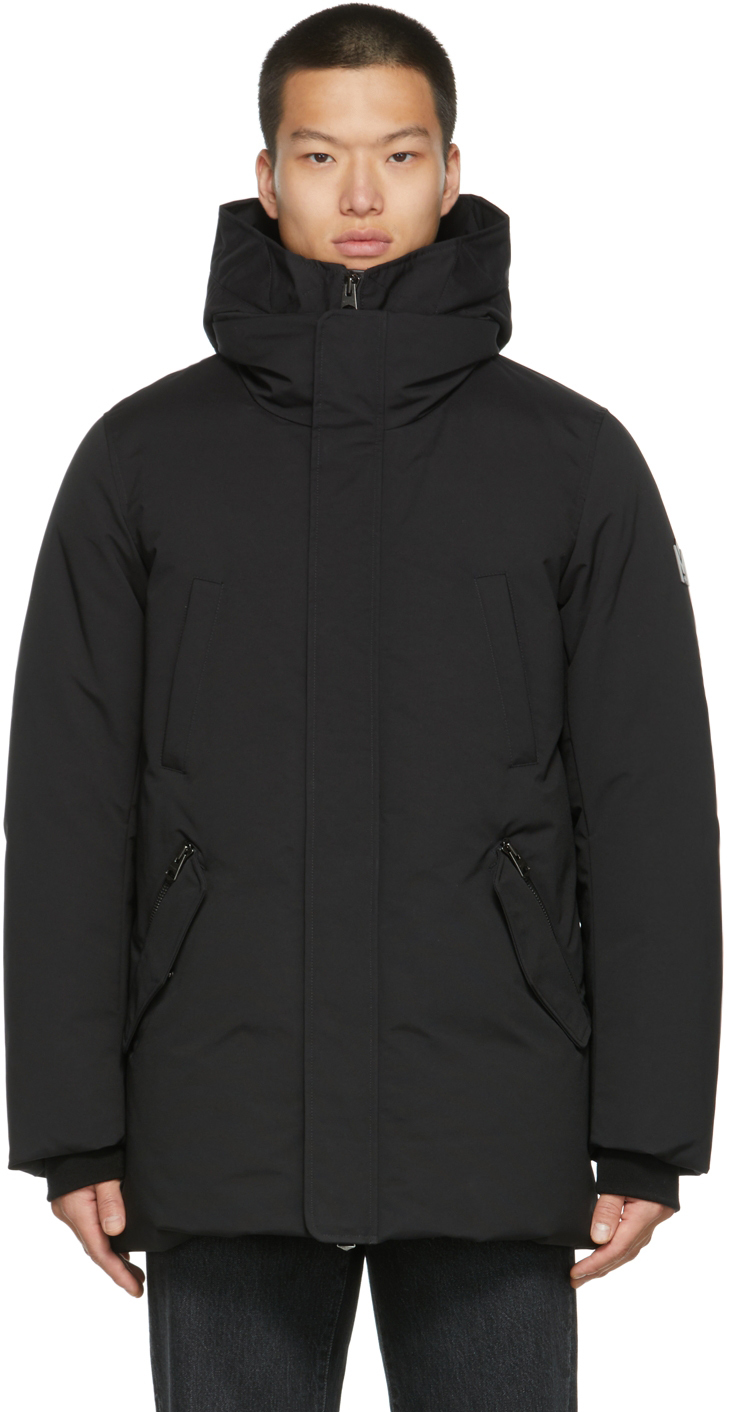 Black Down Edward 2-In-1 Coat