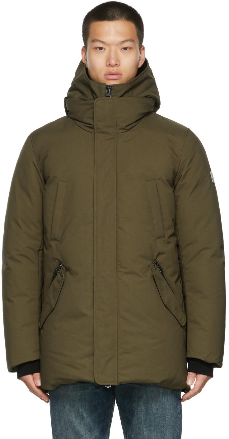 Khaki Down Edward 2-In-1 Coat