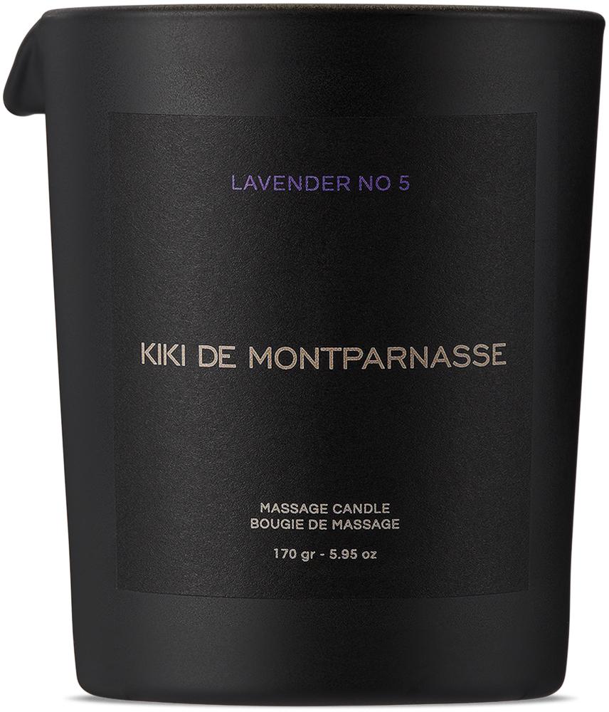 Large Lavender No. 5 Massage Oil Candle