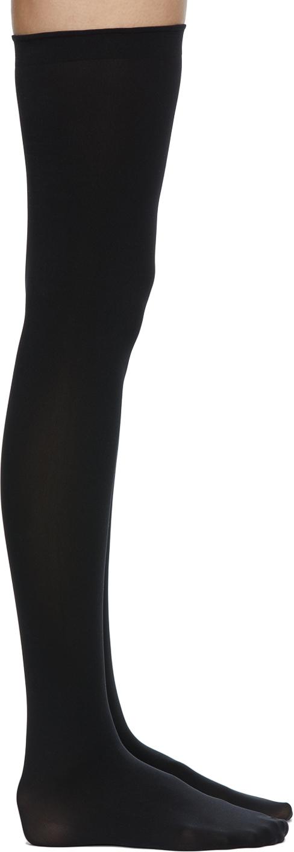 Black Fatal 80 Stay-Up Socks
