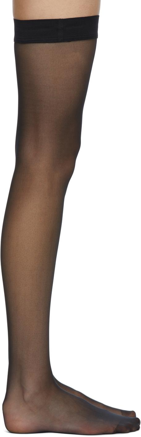Black Individual 10 Stay-Up Socks