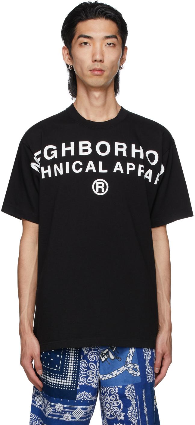 Neighborhood 黑色 Technical T 恤