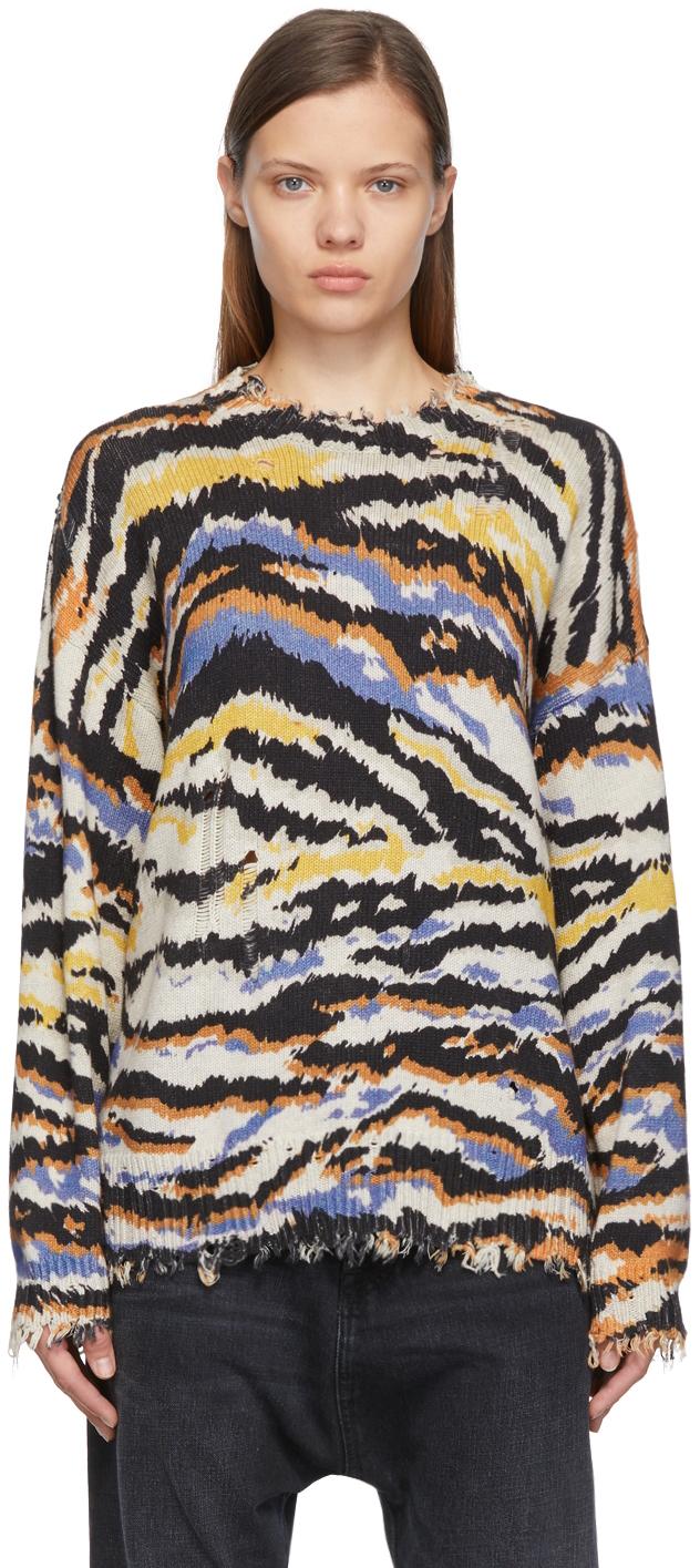 Multicolour Zebra Sweater