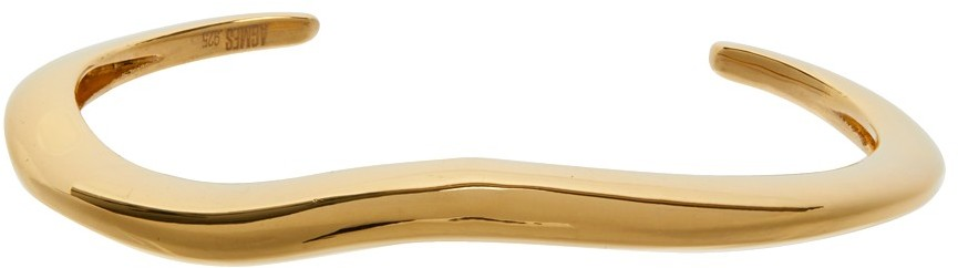 Gold Small Astrid Cuff Bracelet