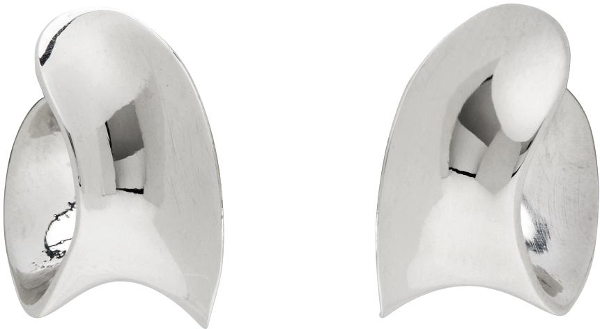 Silver Mini Laila Hoop Earrings