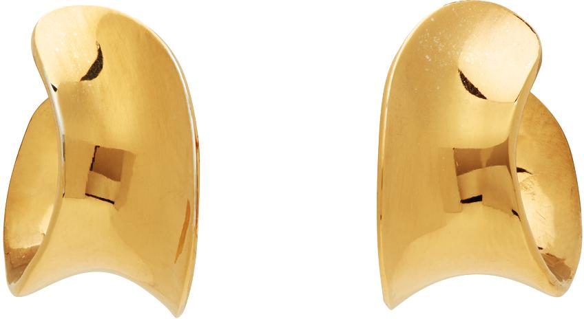Gold Mini Laila Hoop Earrings