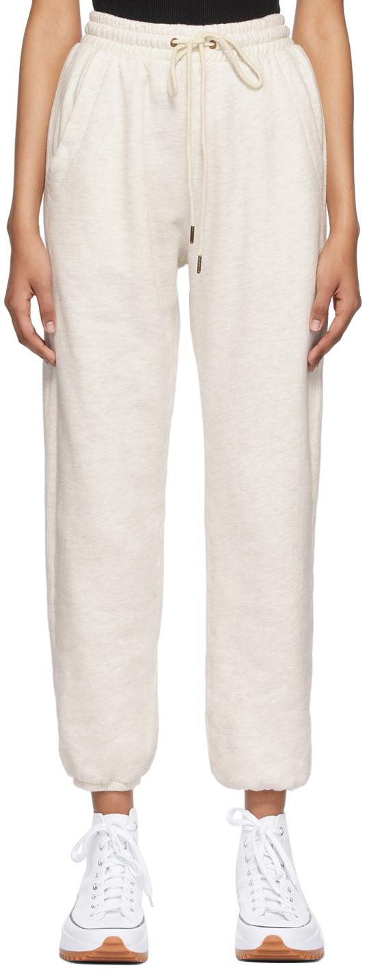 Off-White Fleece Laila Casual Lounge Pants