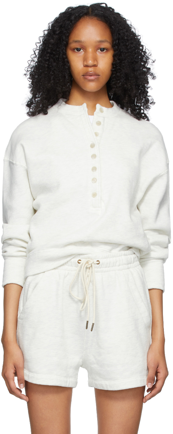 Off-White Cora Henley Sweatshirt