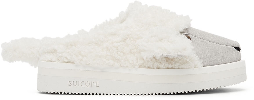 White Suicoke Edition Animal Loafers