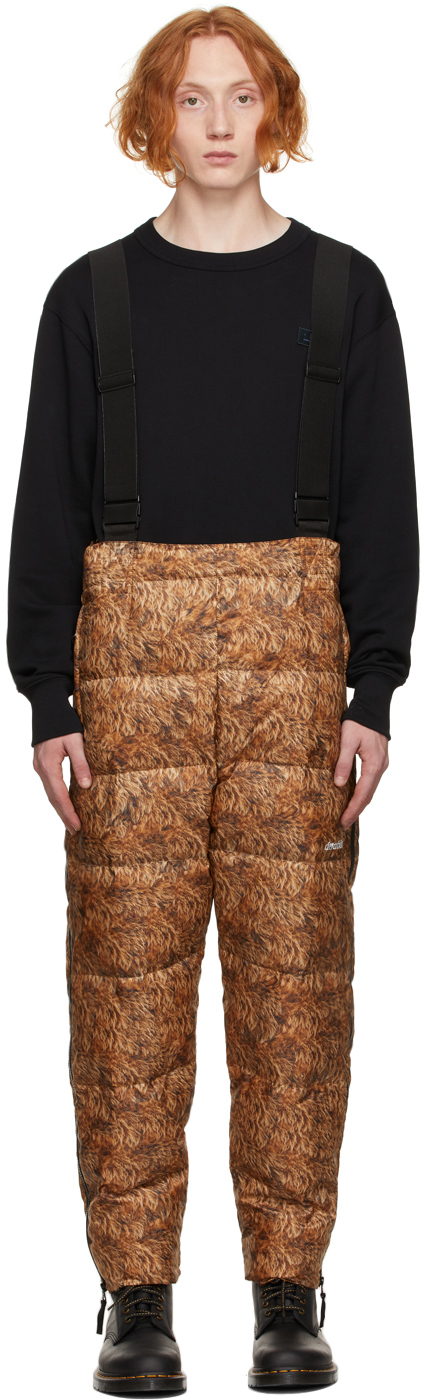 Brown & Black Down Animal Costume Pants