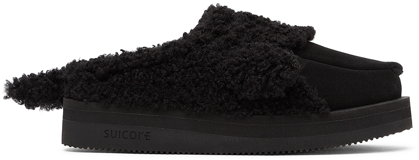 Black Suicoke Edition Animal Loafers