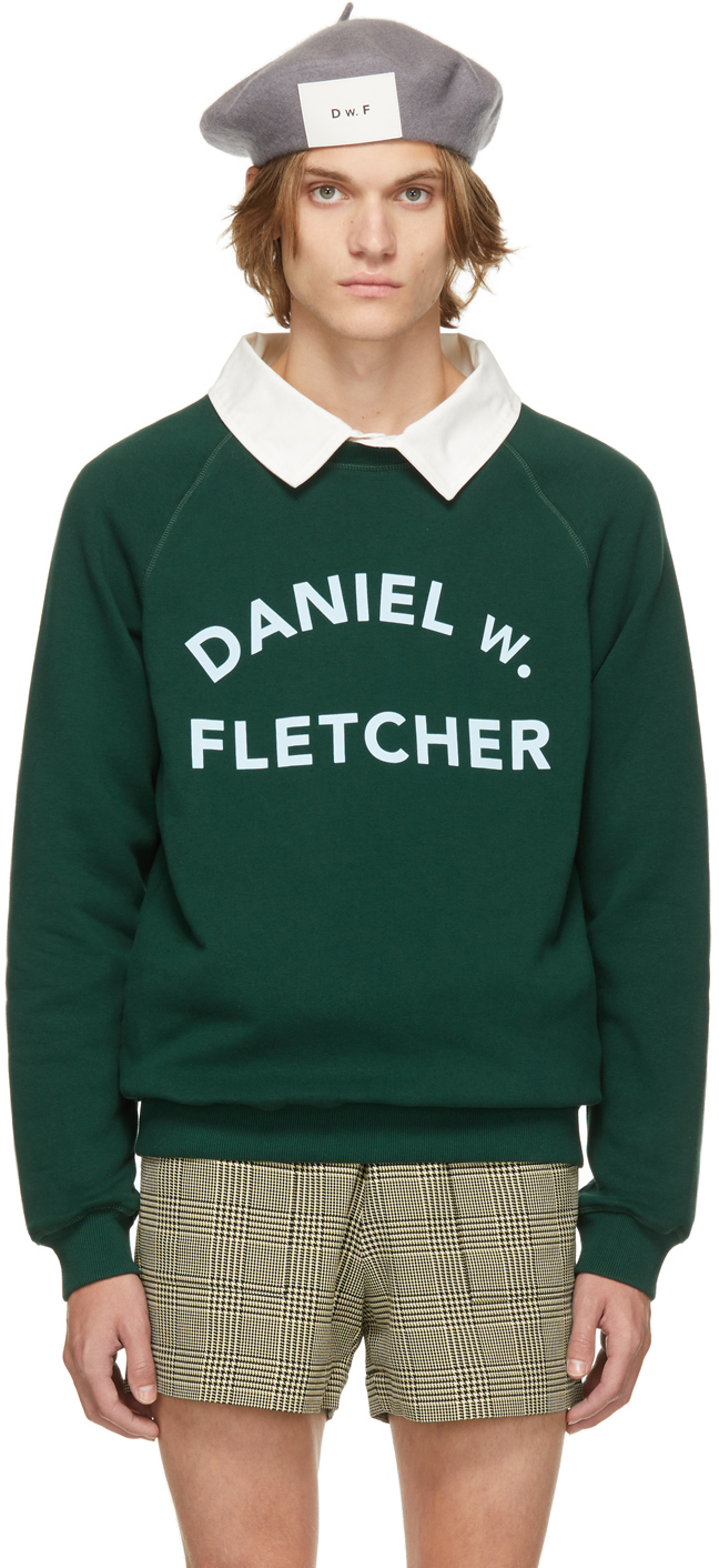 Green College Logo Sweatshirt