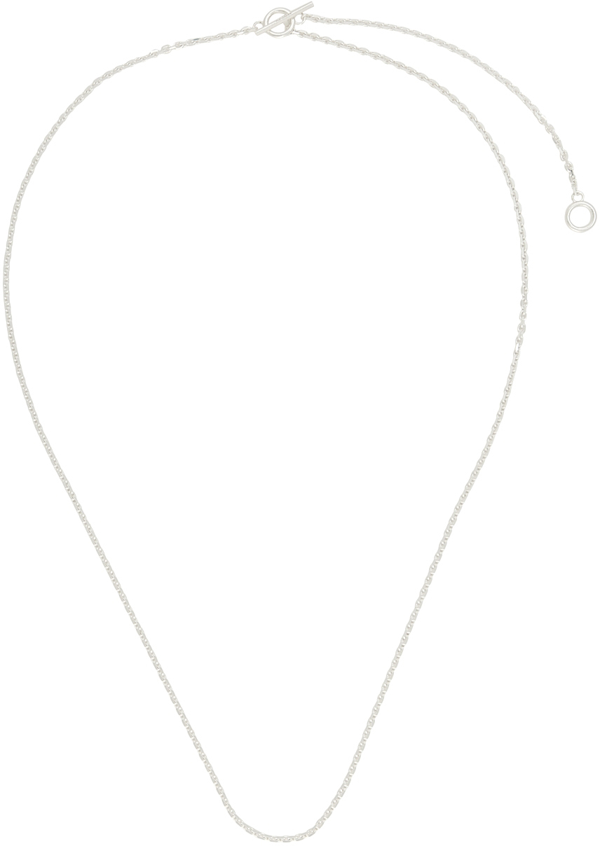 Silver String Necklace