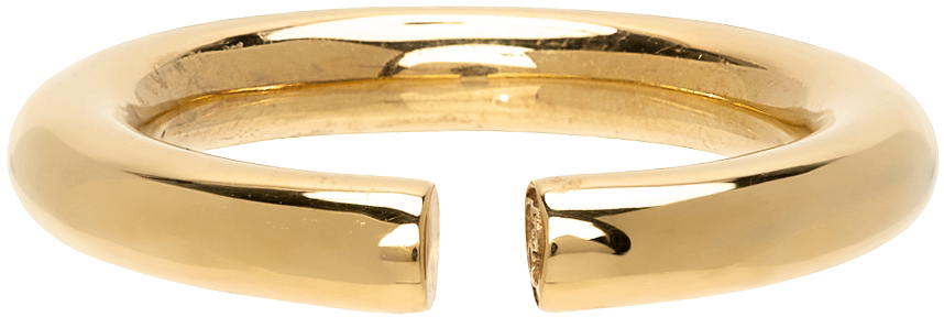 Gold Polished Almost Ring