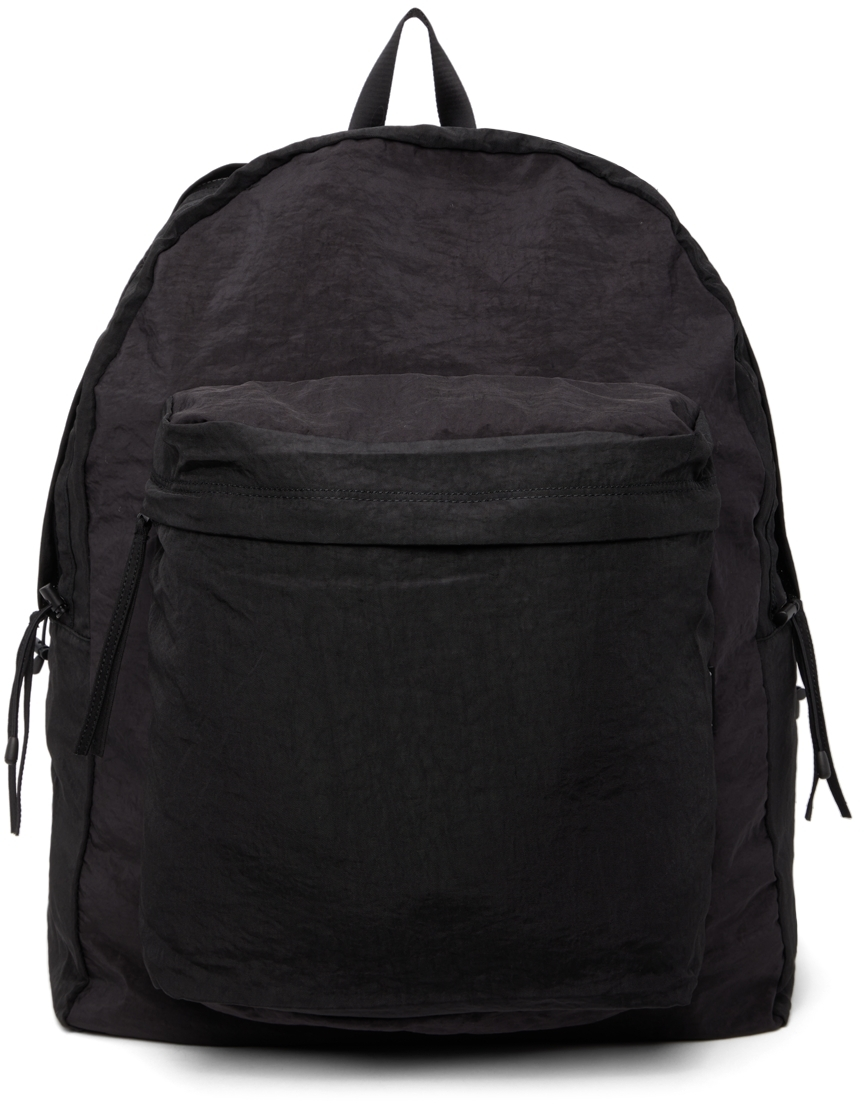 Black Airbag String Backpack