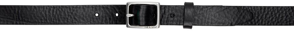 Black Leather Baby Boyfriend Belt