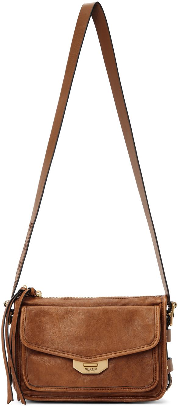 Brown Small Field Messenger Bag