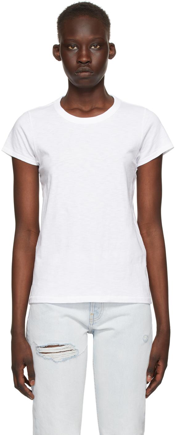 rag & bone White 'The Slub' T-Shirt