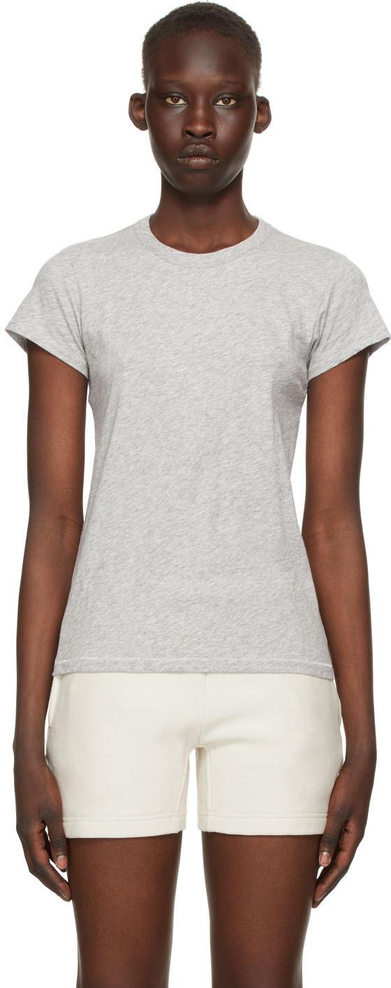 rag & bone Grey 'The Slub' T-Shirt