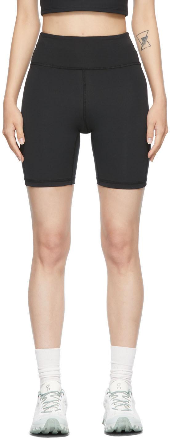 Black Warm Up Shorts