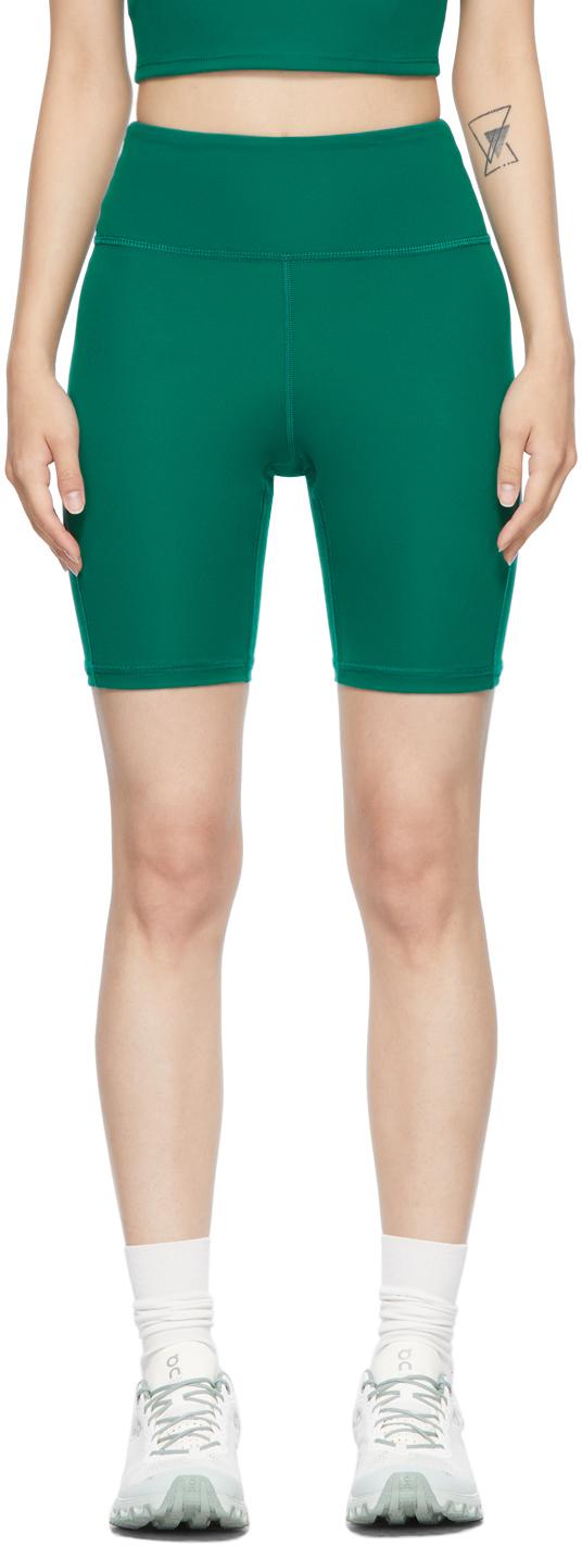 Green Warm Up Shorts