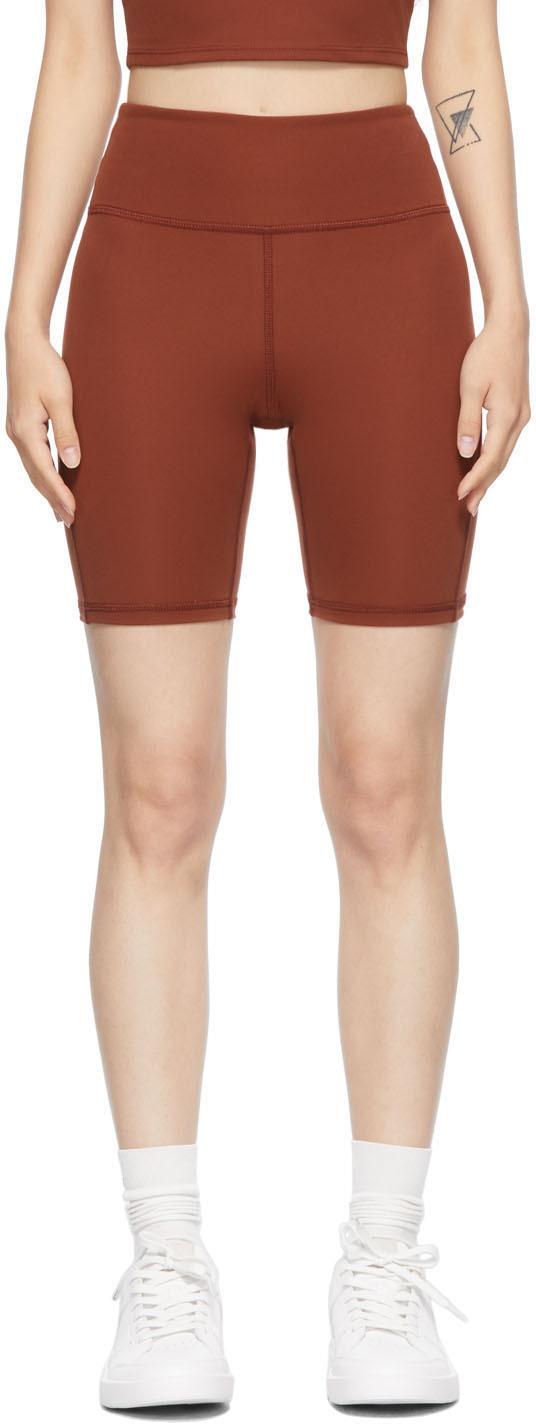 Burgundy Warm Up Shorts
