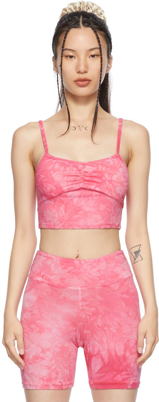 Pink Tie-Dye Bandha Top
