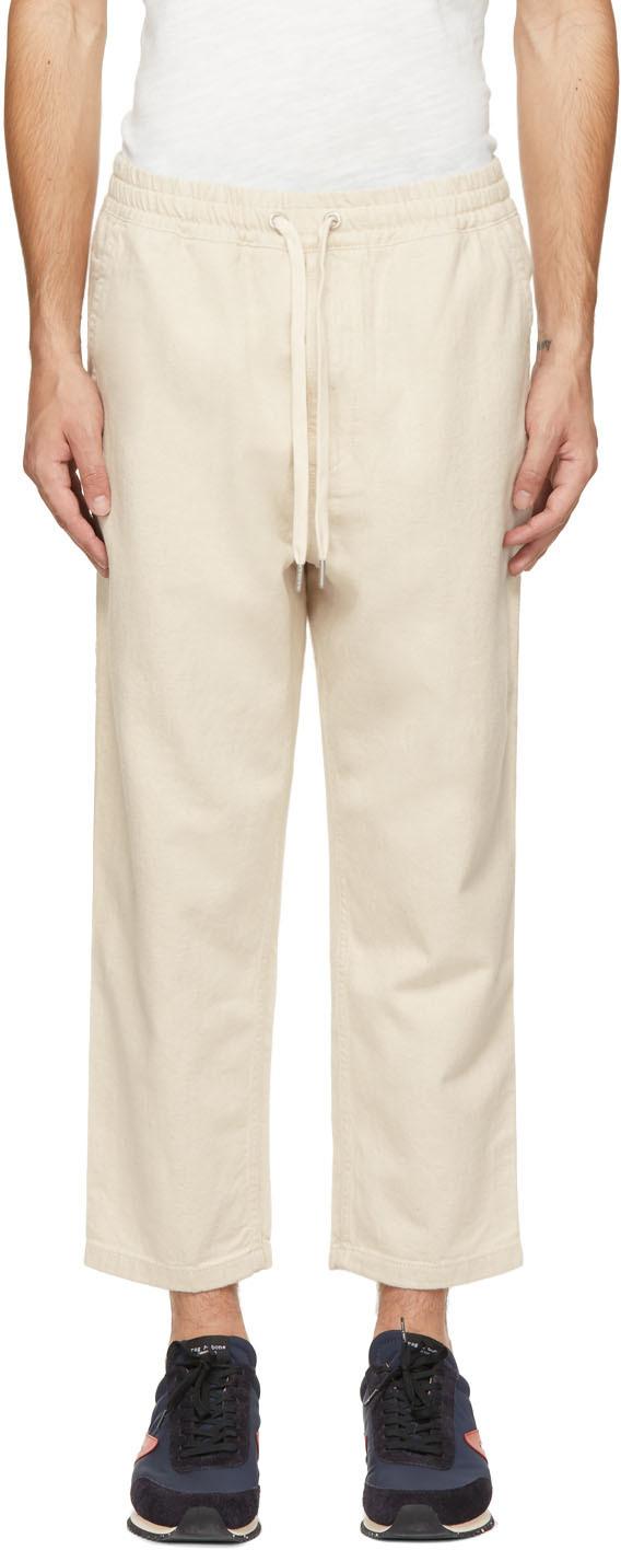 Off-White Hemp Twill Broken Trousers