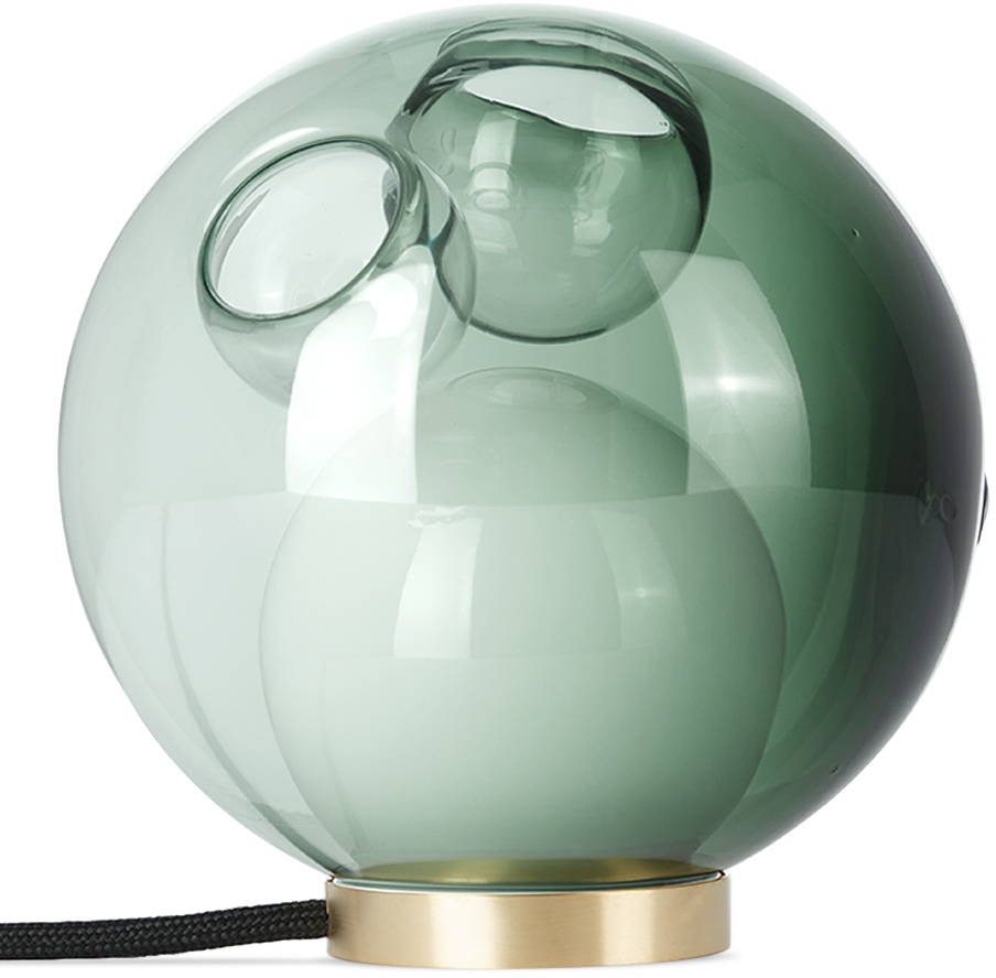 Grey & Green 28t Table Lamp