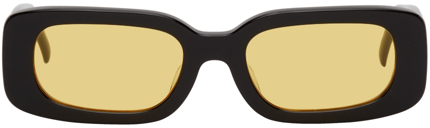 Black & Yellow Show And Tell Sunglasses