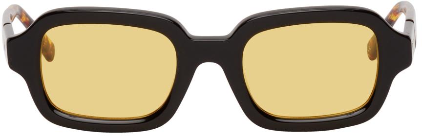 Black & Yellow Shy Guy Sunglasses
