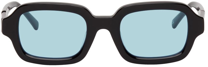 Black & Blue Shy Guy Sunglasses